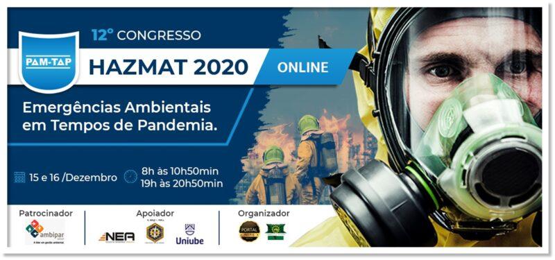 12° Congresso HAZMAT 2020 PAM-TAP